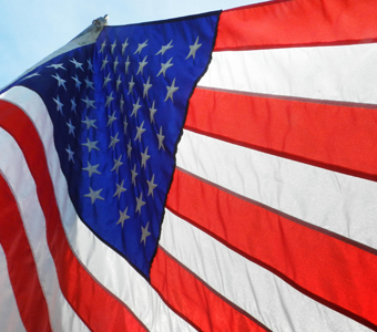 The importance of caring for a u s flag c w services for Proper us flag display