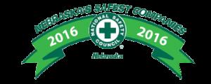 Badge for Nebraska's Safest Companies Award
