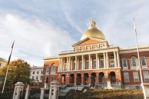 Massachusetts State House in Boston