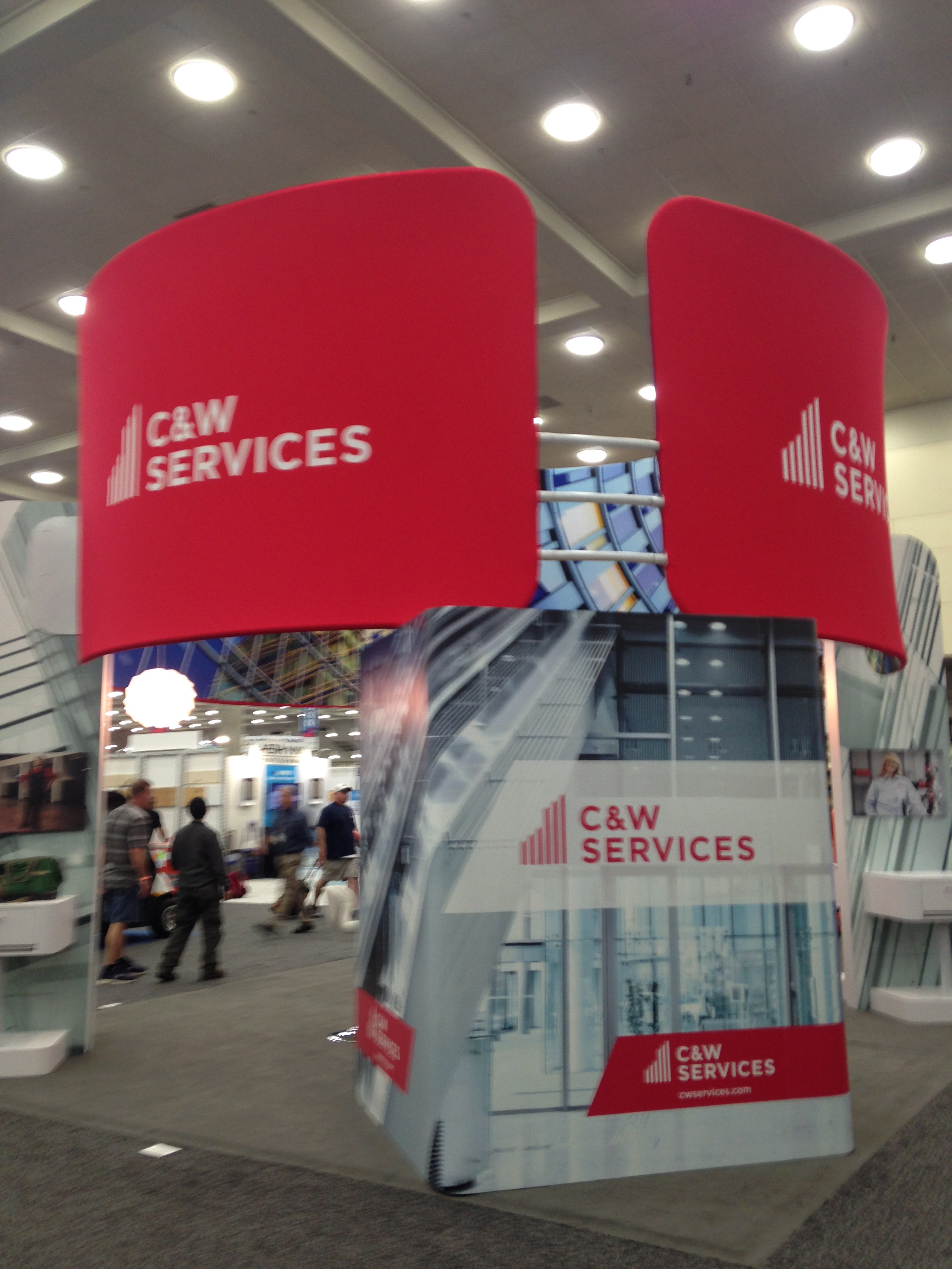 C&W Services Booth