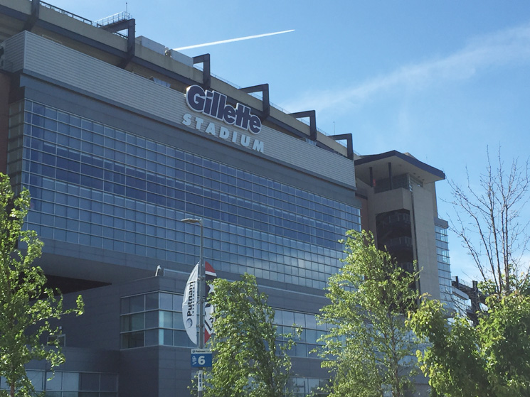 Gillette Stadium - Client Spotlight