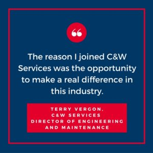 Why I Joined C&W Services: Terry Vergon