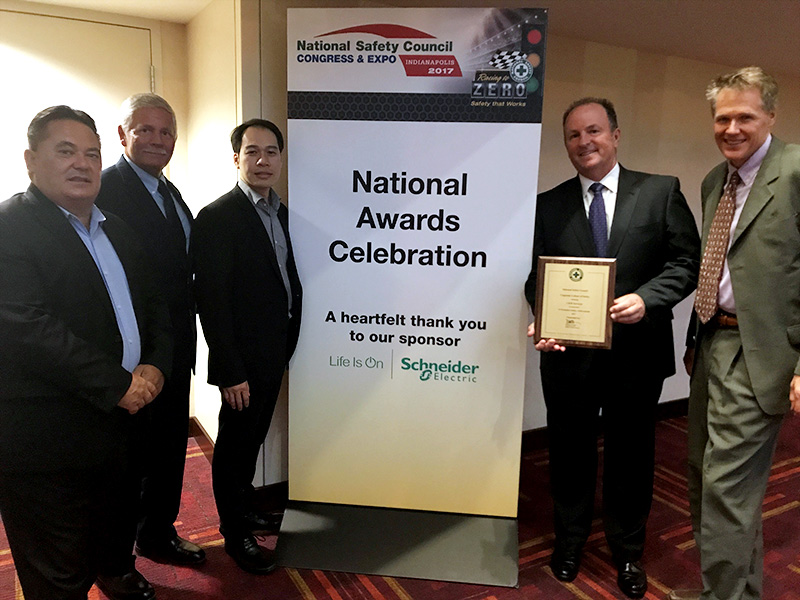 National Safety Council Awards