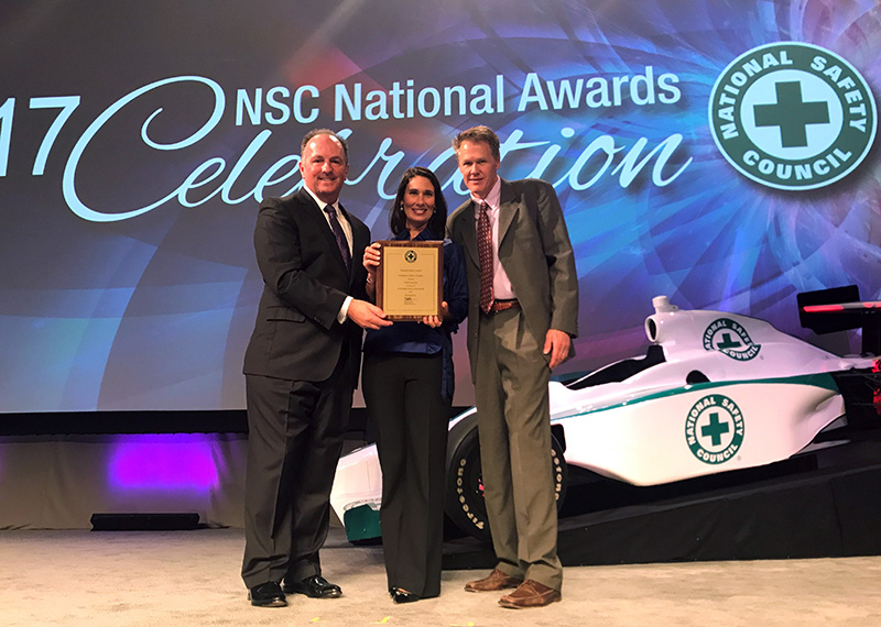 NSC National Award Winner