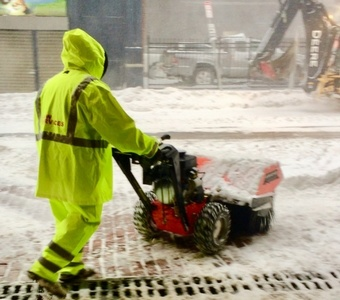 C&W Services provides snow removal services to the Northeast.