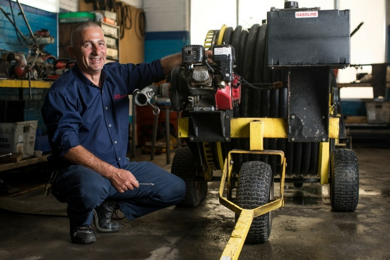 Stefan maintains equipment at a college campus in the Northeast.