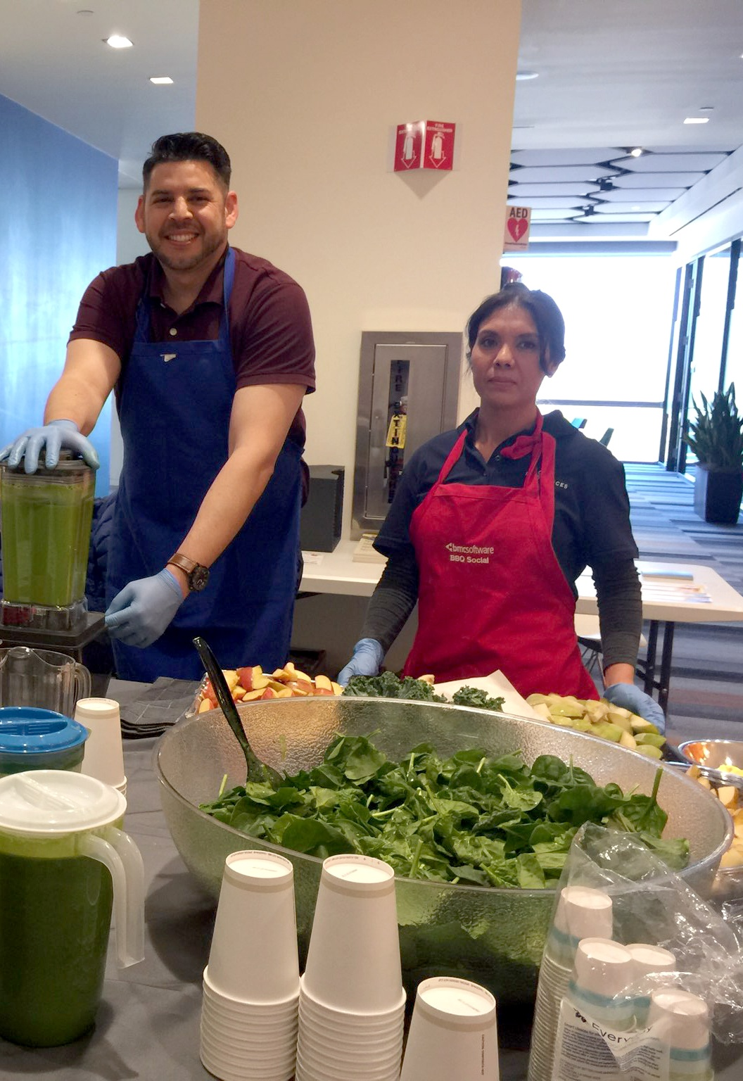 Cesar and Ana provide delicious lunches to tech companies in the San Francisco Bay Area.