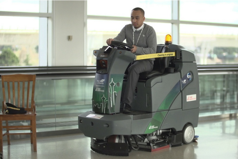 Self-driving technology improves the cleaning in janitorial and corporate services.