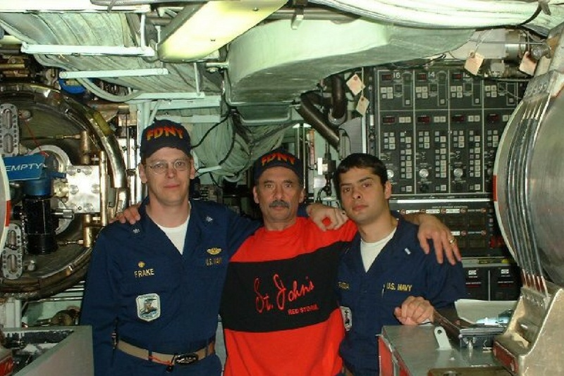 Ken, a Navy veteran, worked on a submarine in the Middle-East.