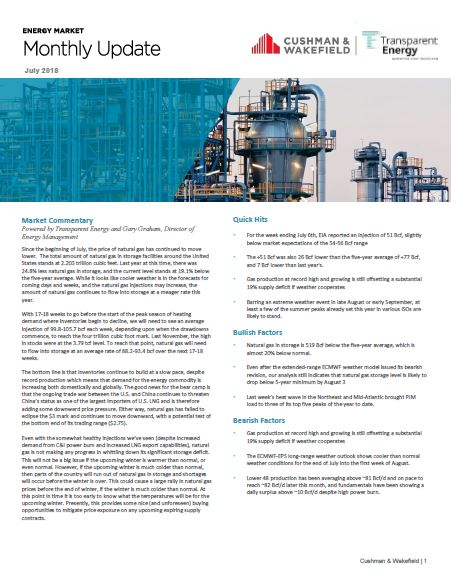 C&W Services, formerly UNICCO, published a monthly energy newsletter.