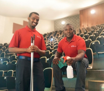 Our janitorial training program prepares people to succeed in the facilities services industry.