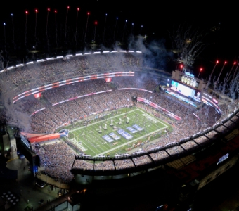 CW Services, a facilities management company, provides services to Gillette Stadium during concerts and games.