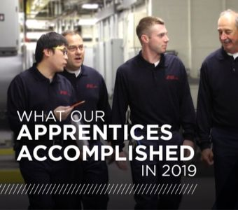 C&W Services celebrates all of its apprentices achievements in 2019